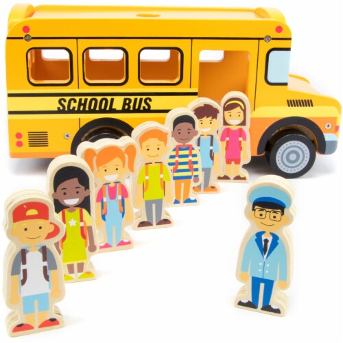 Back to School Bus Playset Perspective: front