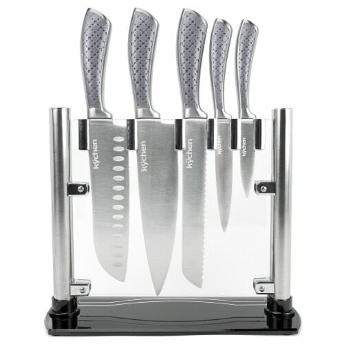 Tizona Knife Set, 5 Utensils Perspective: front