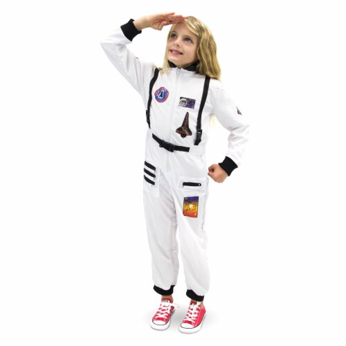 Adventuring Astronaut Children's Costume, 3-4 Perspective: front