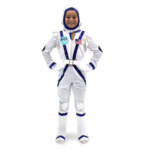 Spunky Space Cadet Children's Costume, 5-6 Perspective: front