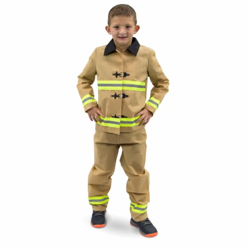 Fearless Firefighter Children's Costume, 10-12 Perspective: front
