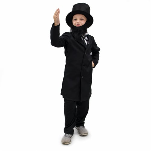 Honest Abe Lincoln Children's Costume, 3-4 Perspective: front