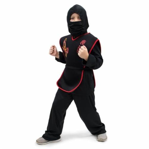 Sneaky Ninja Children's Costume, 7-9 Perspective: front