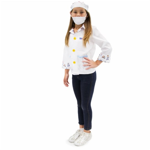 Brainy Doctor Children's Costume, 5-6 Perspective: front