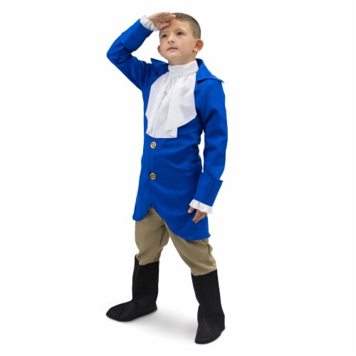 George Washington Children's Costume, 7-9 Perspective: front