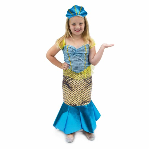 Magnificent Mermaid Children's Costume, 3-4 Perspective: front