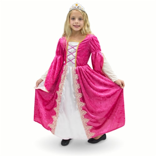 Regal Queen Children's Costume, 10-12 Perspective: front