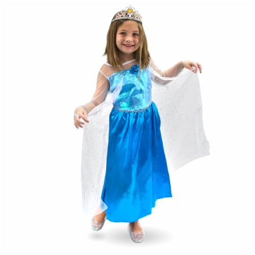 Ice Princess Children's Costume, 5-6 Perspective: front