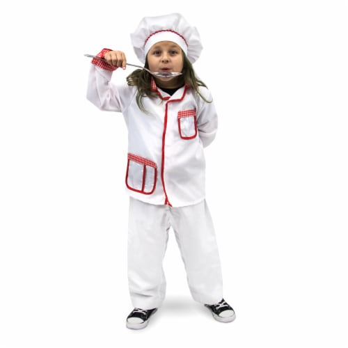 Master Chef Children's Costume, 10-12 Perspective: front