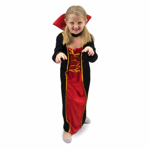 Vexing Vampire Children's Costume, 3-4 Perspective: front