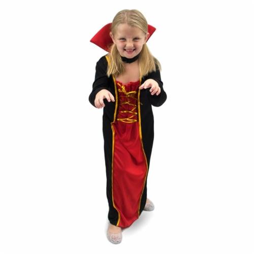 Vexing Vampire Children's Costume, 10-12 Perspective: front