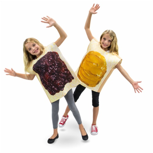 Peanut Butter and Jelly Children's Costume, 5-6 Perspective: front