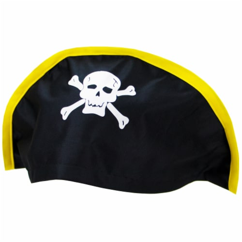 Soft Bicorne Pirate Hat Perspective: front