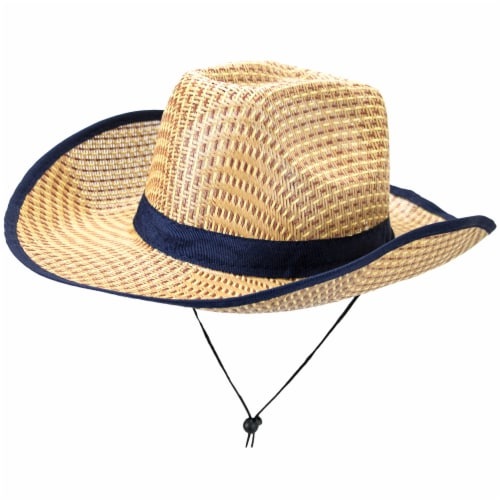 Australian Dundee Straw Hat Perspective: front