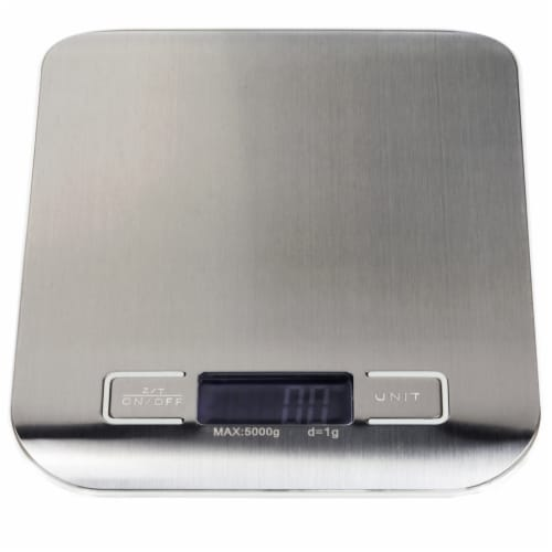 Digital Kitchen Scale, (lbs., g, ml, oz.) Perspective: front