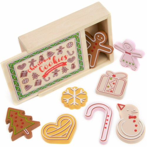 Christmas Cookies Playset Perspective: front