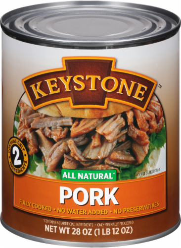 Keystone All Natural Pork Perspective: front