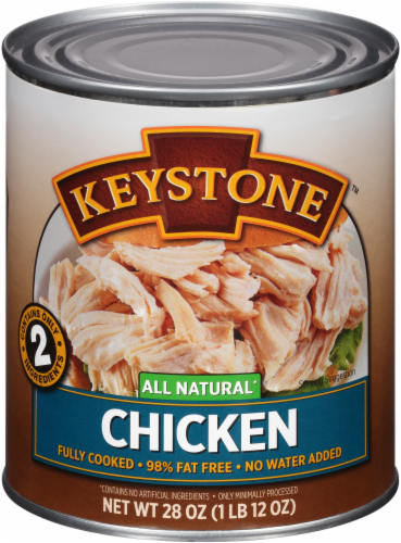 Keystone All Natural Chicken Perspective: front