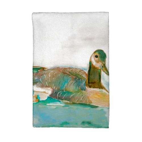 Betsy Drake KT241 Goose Kitchen Towel Perspective: front