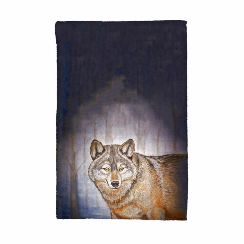 Betsy Drake KT315 Wolf Kitchen Towel Perspective: front