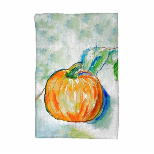 Betsy Drake KT471 Pumpkin Kitchen Towel Perspective: front