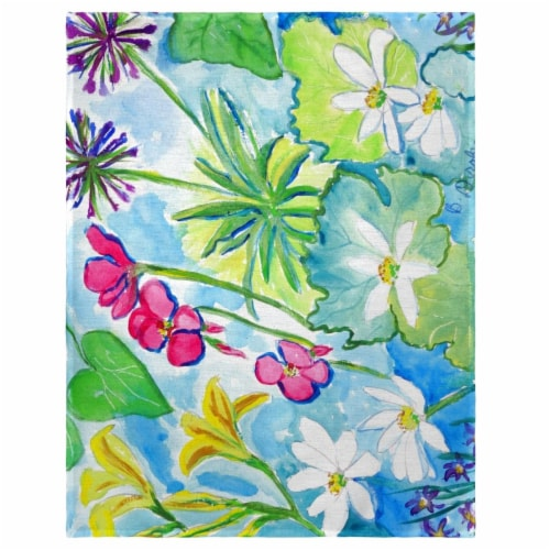Betsy Drake PM826 14 x 18 in. Wild Garden Place Mat - Set of 4 Perspective: front