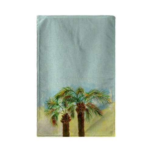 Betsy Drake KT385 Palms Kitchen Towel Perspective: front