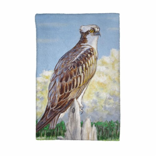 Betsy Drake KT771 Osprey Overlook Kitchen Towel Perspective: front