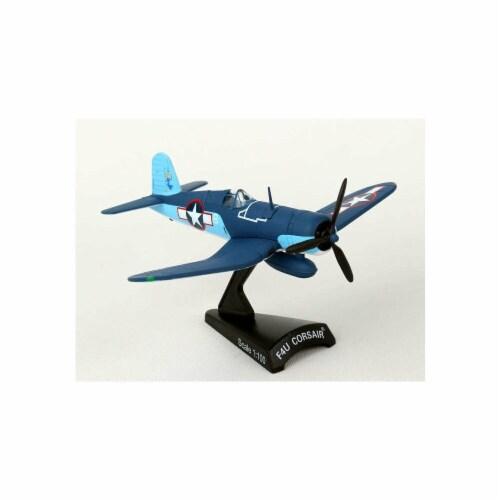 VFM-422 Postage Stamp Collection 1st Lt. Stout Vought F4U Corsair Triplane Perspective: front