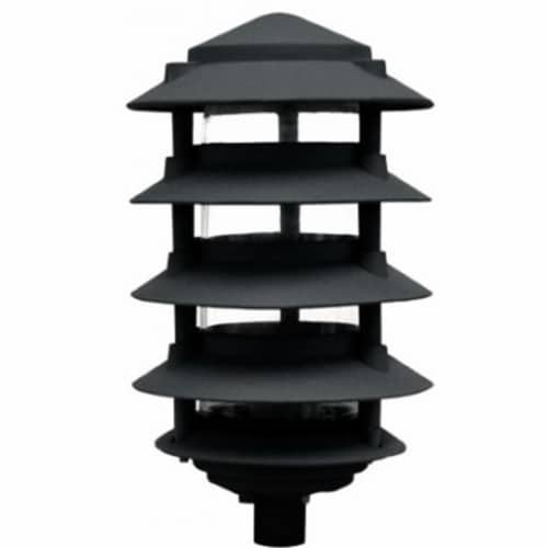 Five Tier Pagoda Light Perspective: front