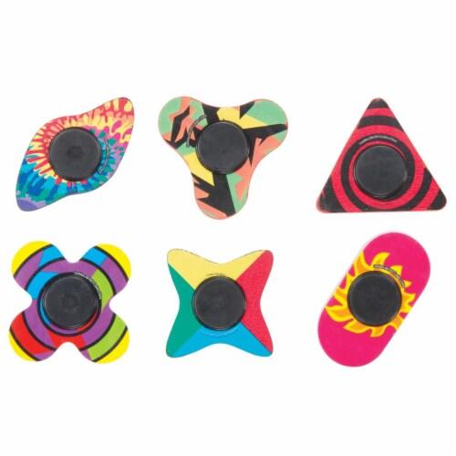 Fidget-Su Eraser Spinner, Case of 24 Perspective: front