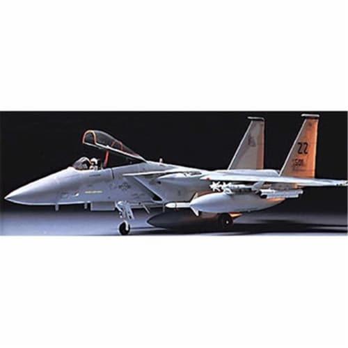 1-48 MCD Douglas F-15C Eagle Kit - CO129 - Airplane Model Kit Perspective: front