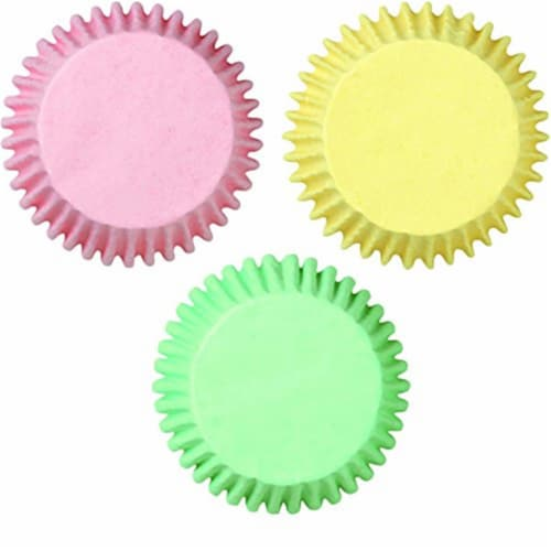 Baking Cups - Pastel Assorted - 75 Count Perspective: front
