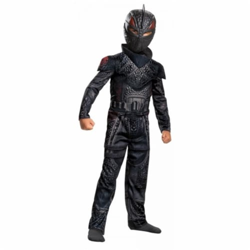 Child Hiccup Jumpsuit & Character Mask - Size 4-6 Perspective: front