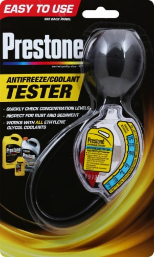 Prestone Antifreeze/Coolant Tester Perspective: front