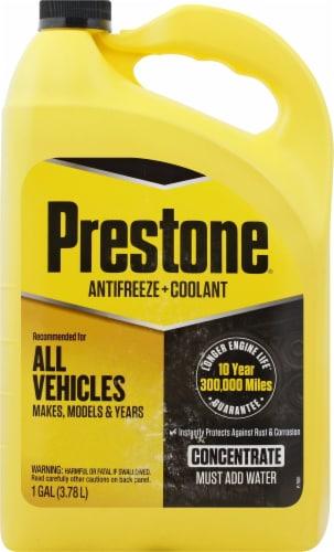 Prestone Antifreeze & Coolant Concentrate Perspective: front
