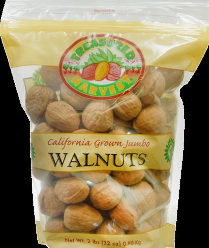 Treasured Harvest Jumbo Walnuts Perspective: front