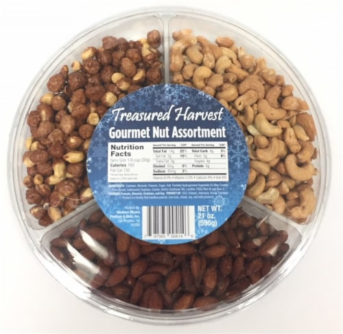 Treasured Harvest Gourmet Nut Assortment Perspective: front