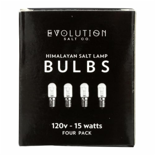 Evolution Salt Bulb - Clear - 15 Watt - Pack of 4 - Pack of 3 Perspective: front