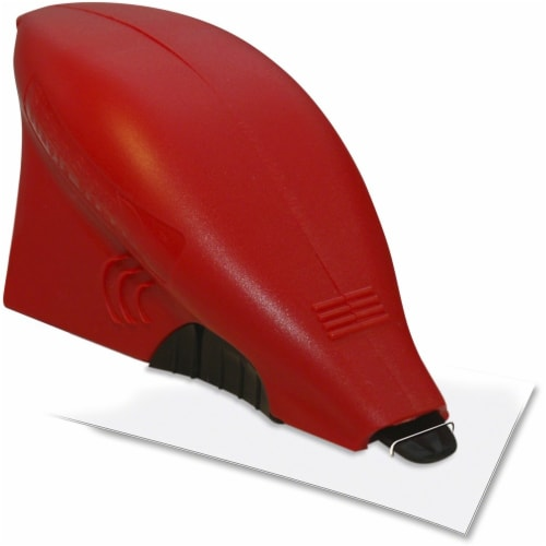 TATCO Slide-N-Store Staple Remover - Plastic - Red, Blue, Green, Yellow - 1 Each Perspective: front