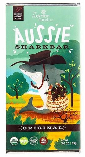Australian Carob  Organic Aussie SharkBar Carob Chocolate   Original Perspective: front