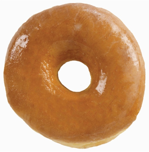 Prairie City Bakery Classic Glazed Yeast Donut, 15 Ounce -- 6 per case. Perspective: front