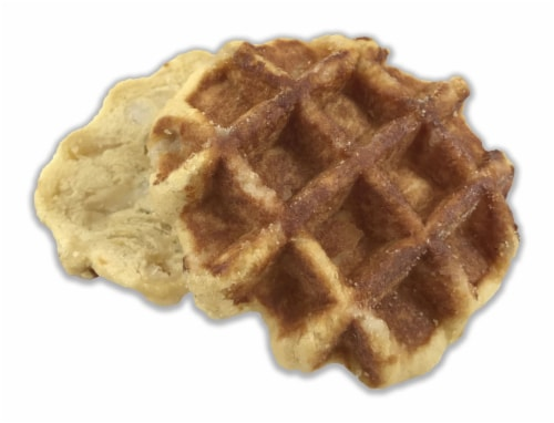 Prairie City Bakery Maple Sandwich Waffle, 10 count per pack -- 8 per case. Perspective: front