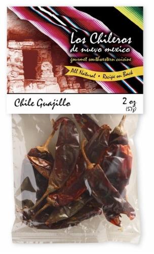 Los Chileros Whole Dried Guajillo Chiles Perspective: front