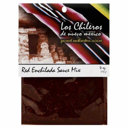 Los Chileros Red Enchilada Sauce Mix Perspective: front