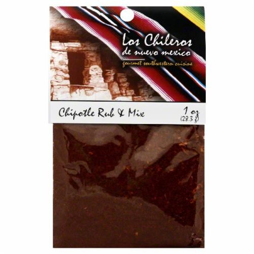 Los Chileros Chipotle Rub & Mix Perspective: front