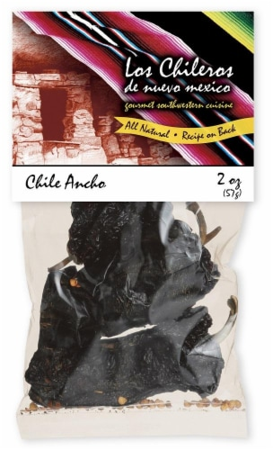 Los Chileros Whole Ancho Chile Perspective: front