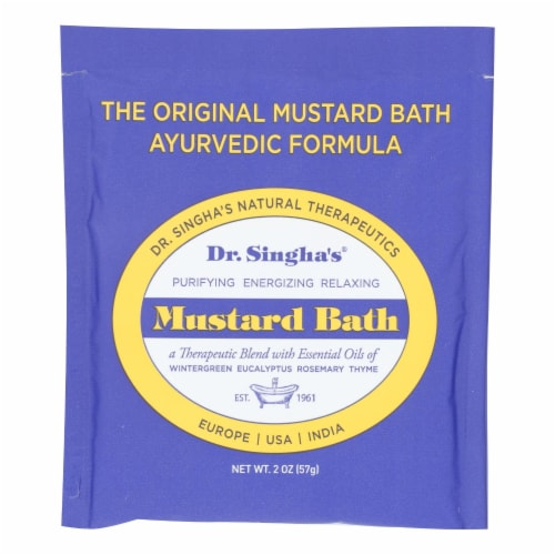 Dr. Singha's Mustard Bath Perspective: front