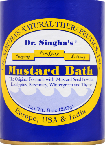 Dr. Singha's Mustard Bath Mustard Bath Perspective: front