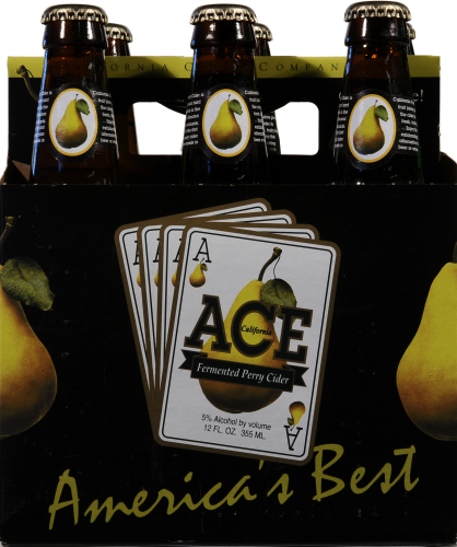 Ace Fermented Pear Cider Perspective: front